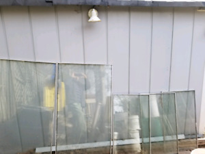 Window double pane for Green House