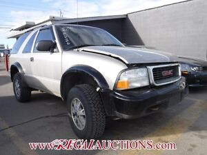 2005 GMC JIMMY  2D UTILITY 4WD