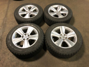 ACURA MDX 2014+ MAGS WITH WINTER TIRES TOYO 255/55R18 FOR SALE