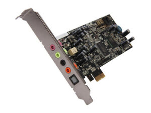 ASUS XONAR DGX 5.1 Channels 24-bit 96KHz PCI Express x1 Interfac
