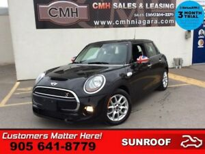 2015 MINI Cooper Hardtop S  LEATHER ROOF HEATED SEATS 4 DOOR AUT