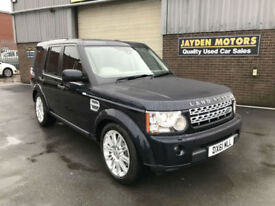 2011 LAND ROVER DISCOVERY4 XS 3.0SDV6 ( 242BHP) 4X4 AUTO 59000 MILES WITH FSH