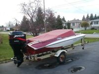 1976 boat and 2000 90hp 4 stroke
