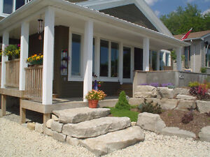 PAVING STONE, PATIOS, STONEWORK, BUILT-IN BBQS, HOT TUB AREAS London Ontario image 5