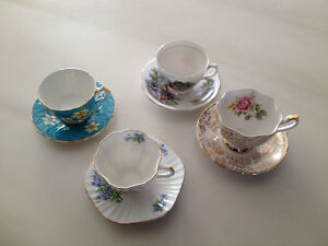 Royal Vale Bone China Made in England Tea Cup and Saucer