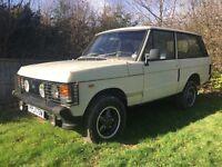 1981 Range Rover classic 2 door