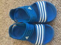 Boys Adidas sandals size 6