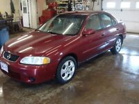 2003 NISSAN SENTRA GXE 4DR $2500 TAX IN CHANGED INTO UR NAME