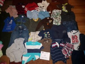 27 Pieces of Boys 9-12 Months