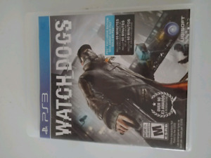 Watch Dogs Game - PS3
