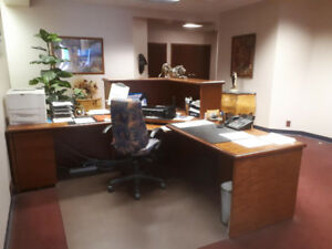 Large Lot of Quality Office Furniture for Sale.  Great Deal!