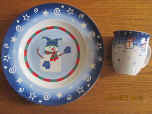 Winter/Christmas dishes