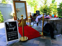 Retro Mirror Booth $50 OFF / Party Rental Supplies / Photo Booth