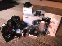Canon EOS 60D Digital SLR Camera with EF-S 17-85 IS USM lens + extras!!