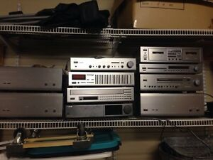 HQ Yamaha Home Stereo System. Perfect Condition.