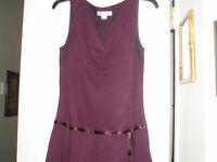 LOVELY DEEP PURPLE DRESS...