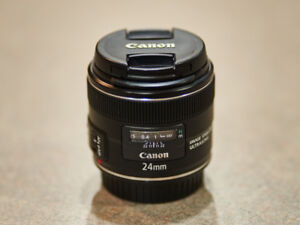 Canon  Lens and flash system