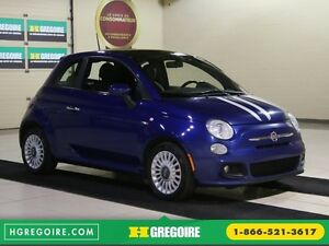 2012 Fiat 500 Sport A/C MAGS TOIT