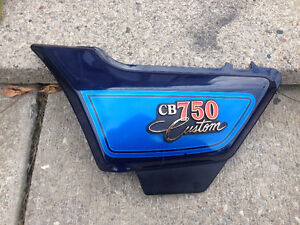 1980 - 1983 Honda CB750 Custom left side cover
