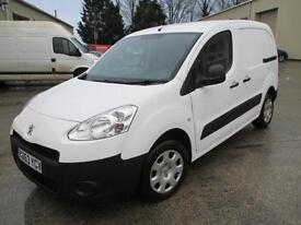 2013 Peugeot Partner 1.6HDi 92 850 S L1 1 owner diesel pas sld euro 5 cd stereo