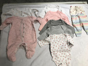 Beautiful baby GAP girl clothes (upto 7 lbs) Excellent Condition