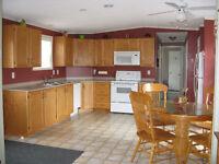 MINI HOME WITH GARAGE, GAZEBO,3 BEDS,1.5 BATHS,WASHER & DRYER+