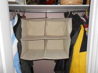 Brand New Hanging garment Hanging Organizer and Storage