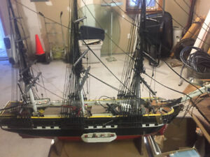 Gallatea model ship
