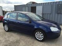 VOLKSWAGEN GOLF 2008 MY MATCH 1.9TDI DIESEL MANUAL FULL SERVICE HISTORY