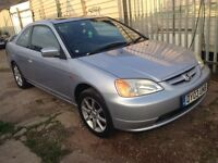 Honda Civic coupe long mot 595