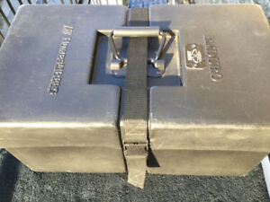 TRICK DOMINATOR Double Bass Drum Pedal Humes & Berg Case