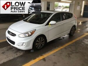 2015 Hyundai Accent GLS*Sunroof*Alloys*HtdSeats*Camera