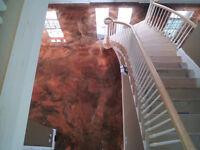 Decorative Concrete, Concrete Repairs, and Epoxy