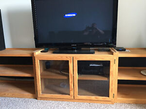 Crate Designs Solid Pine Shelves and Entertainment Units