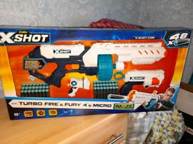 Brand new kids x shot