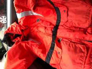 Mustang Flotation Jacket and pair of Sterns Bib pants for sale