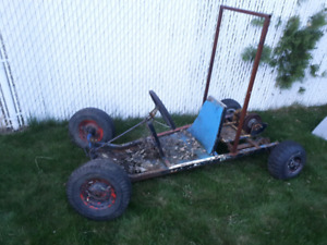 Home made go cart project