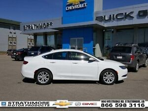 2016 Chrysler 200 Tech Package-Limited-heated seats-  - Certifie