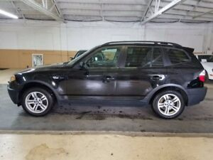 Fully loaded BMW X3