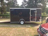 14' enclosed trailer Interstate 1
