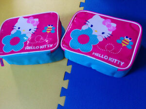 NEW: CARS or HELLO KITTY LUNCH BAG - $8 EACH