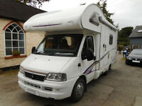 Swift Lifestyle 600S motorhome for sale, Powys, service history