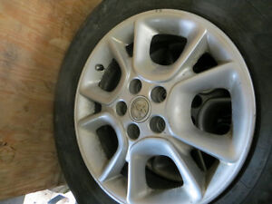 toyota sienna  rims and tires (set of 4)