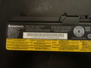 Brand new Lenovo lithium ion 55 plus battery - I can deliver