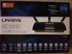 Linksys AC1900 Dual Band Smart Wireless Router with Gigabit