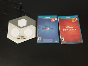 Wii u Disney infinity characters and game