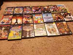 Gamecube games for sale.