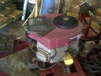 21 hp Briggs V- twin motor