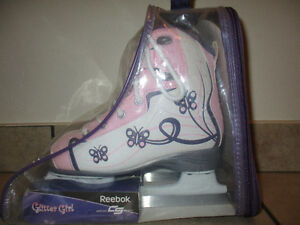 New with Tags Glitter Girl Reebok Skates Size 2 - Two Pairs