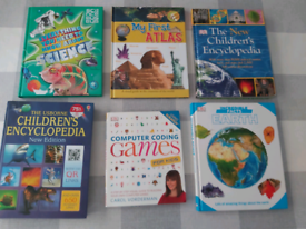 Childrens learning books job lot